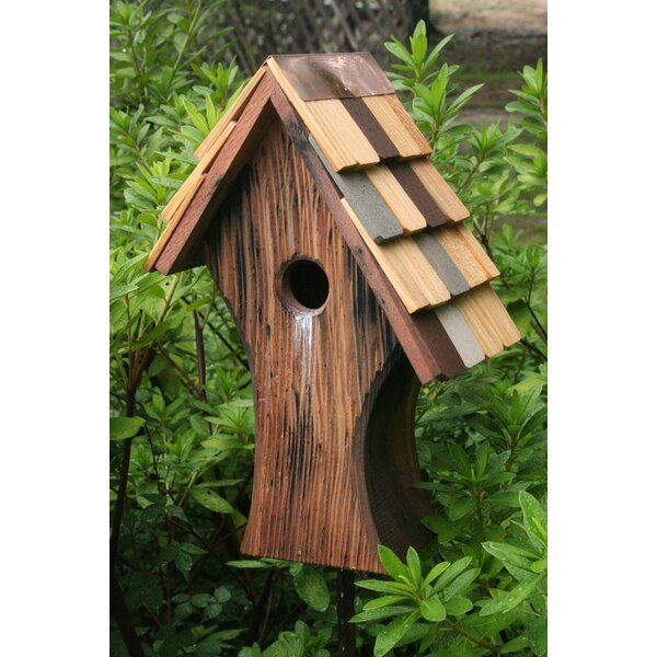 Nottingham 15 in x 10 in x 6 in Birdhouse by Heartwood