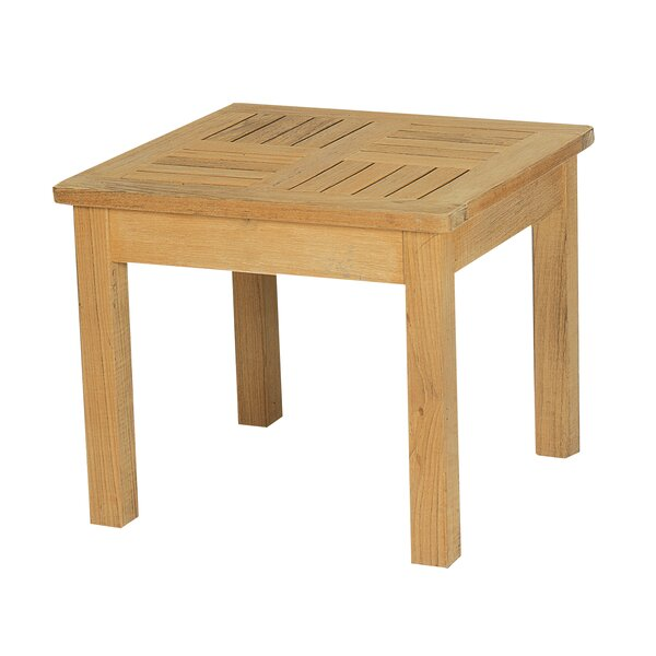 Gilfillan  Extendable Solid Wood Side Table by Darby Home Co