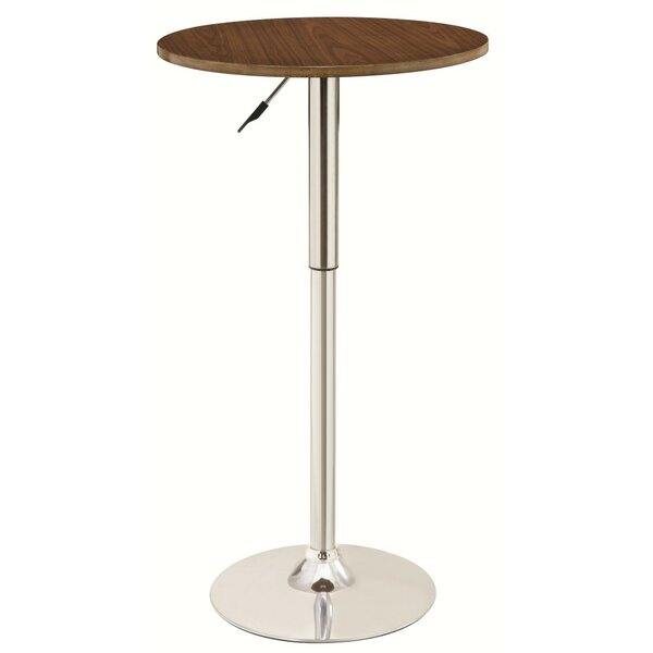 Whooten 2-Tone Chic Adjustable Pub Table by Orren Ellis