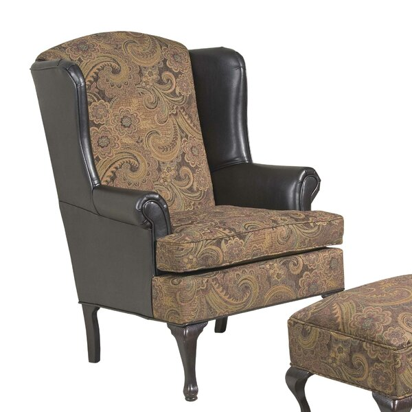 Manske WingBack Chair by Astoria Grand Astoria Grand