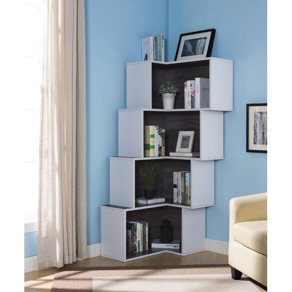Farragutt Modern Corner Bookcase by Ivy Bronx