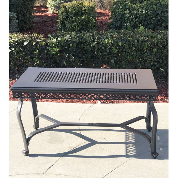 Bertolucci Aluminum Coffee Table By Gracie Oaks by Gracie Oaks Read Reviews