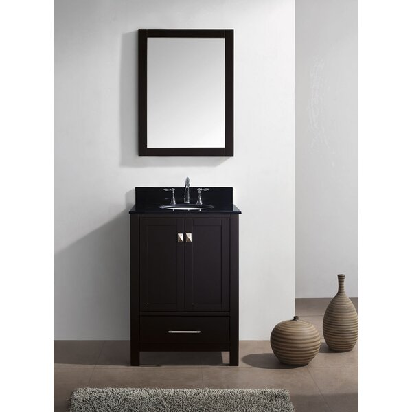 Serigne 25 Single Bathroom Vanity Set with Mirror by Willa Arlo Interiors