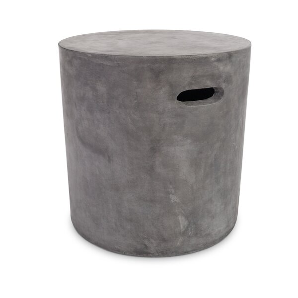 Courville Round Accent Stool by Williston Forge