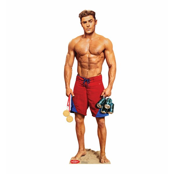 Baywatch Matt Brody (No Shirt) Standup by Advanced Graphics