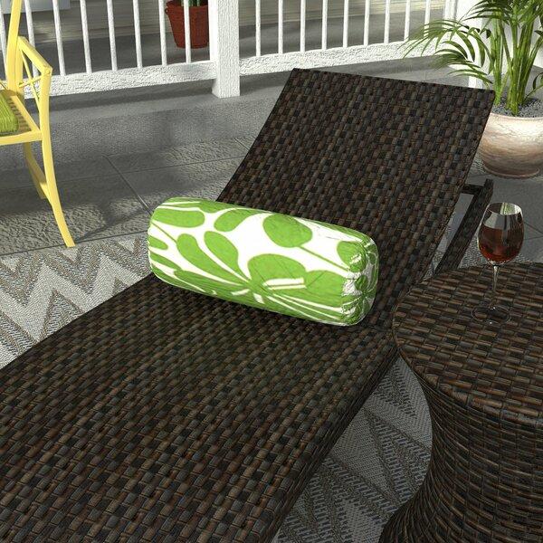 Egerton Indoor/Outdoor Bolster Pillow by Rosecliff Heights