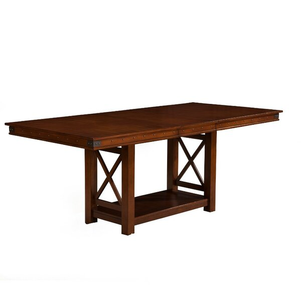 Andruska Extension Counter Height Dining Table by Gracie Oaks