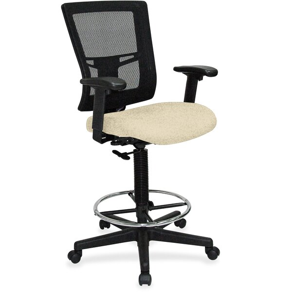 Mid-Back Mesh Drafting Chair by Lorell