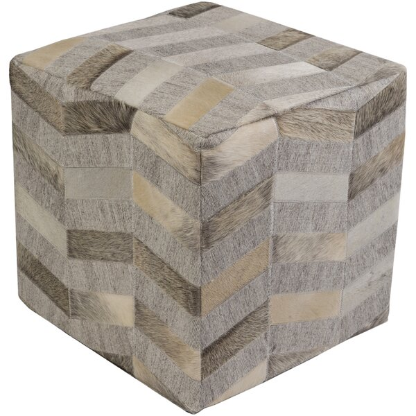 Shore Front Cube Ottoman by Brayden Studio