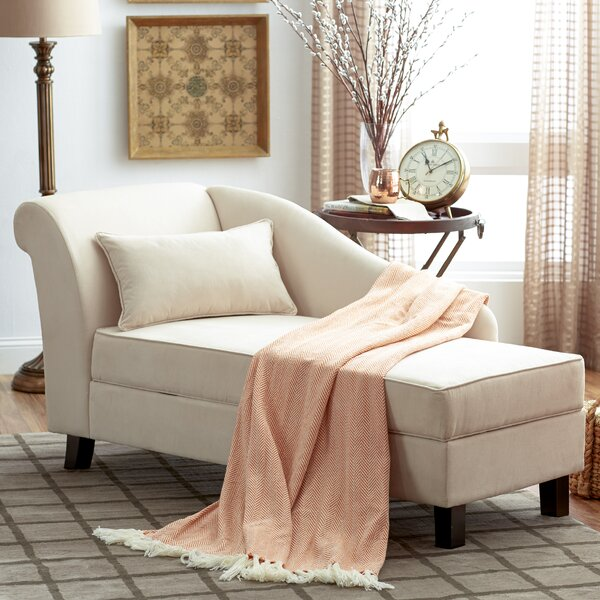 Verona Chaise Lounge By Three Posts