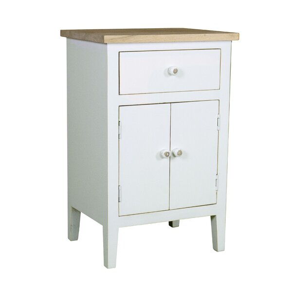Afternoon Farmhouse 1 Drawer Accent Cabinet by Porthos Home