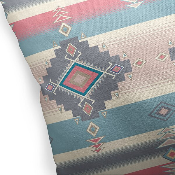 Collingwood Cotton Indoor / Outdoor Geometric Pillow