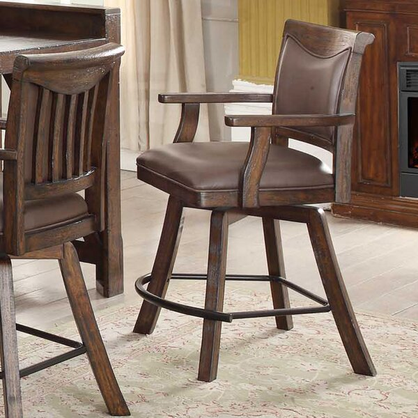 Tremper 30 Swivel Bar Stool (Set of 2) by Millwood Pines