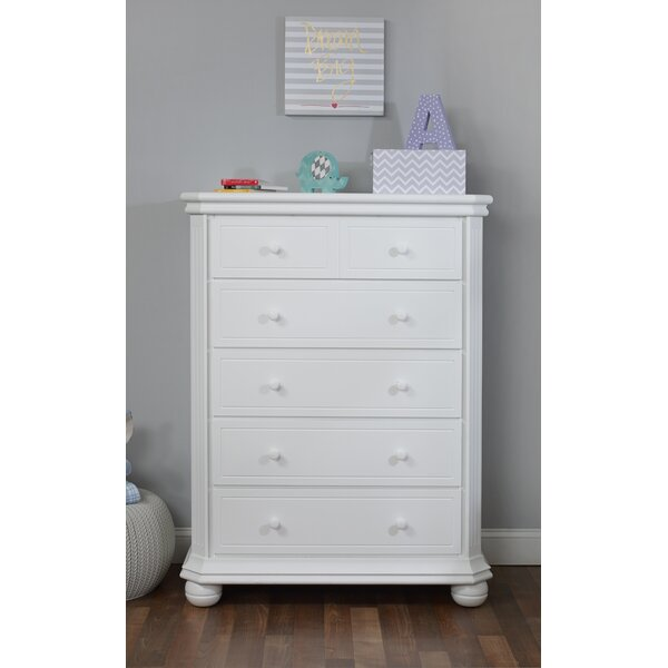 Vista Elite 5 Drawer Chest By Sorelle by Sorelle Design