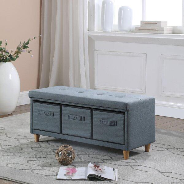 Alcazar Upholstered Drawer Storage Bench By Ebern Designs