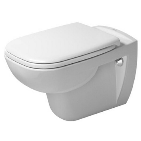 D-Code Wall Mounted Washdown Dual Flush Elongated Toilet Bowl by Duravit