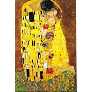 'The Kiss' by Gustav Klimt Graphic Art Print by East Urban Home