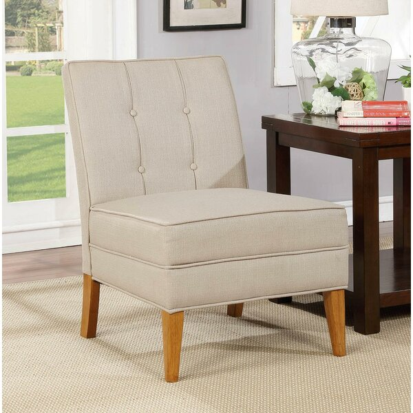 Dias Slipper Chair by Charlton Home
