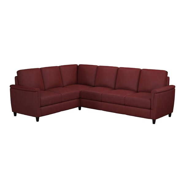 Altimo Leather Sectional By Westland And Birch