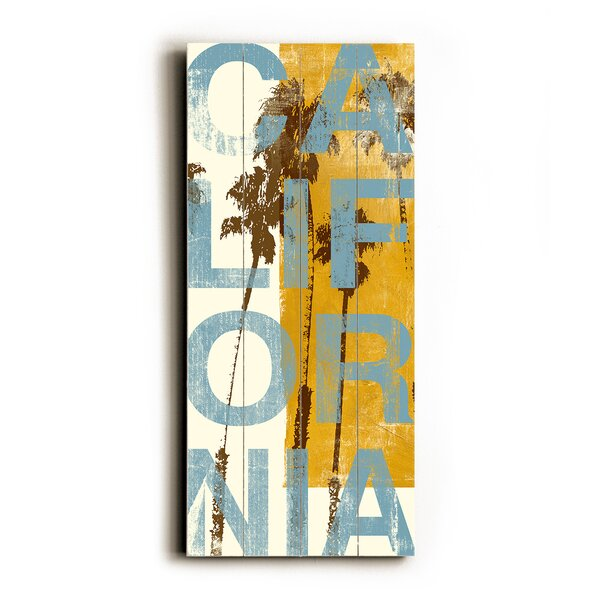 California Yellow Graphic Art by Artehouse LLC