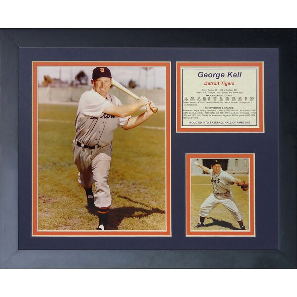 George Kell Framed Photographic Print by Legends Never Die