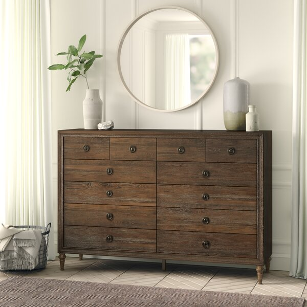 Bargain Knollwood 12 Drawer Double Dresser By Greyleigh 2019 Coupon