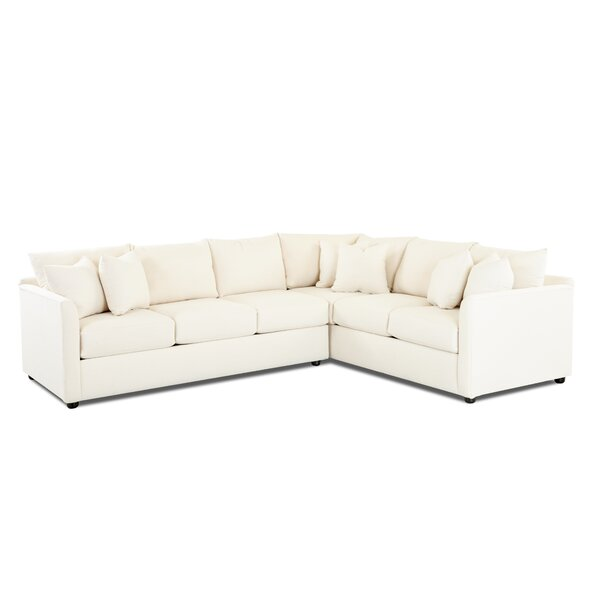 Large L-Shaped Sectional By Wayfair Custom Upholstery™