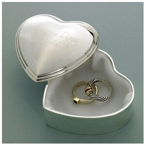 Personalized Gift Heart Accessory Box by JDS Personalized Gifts