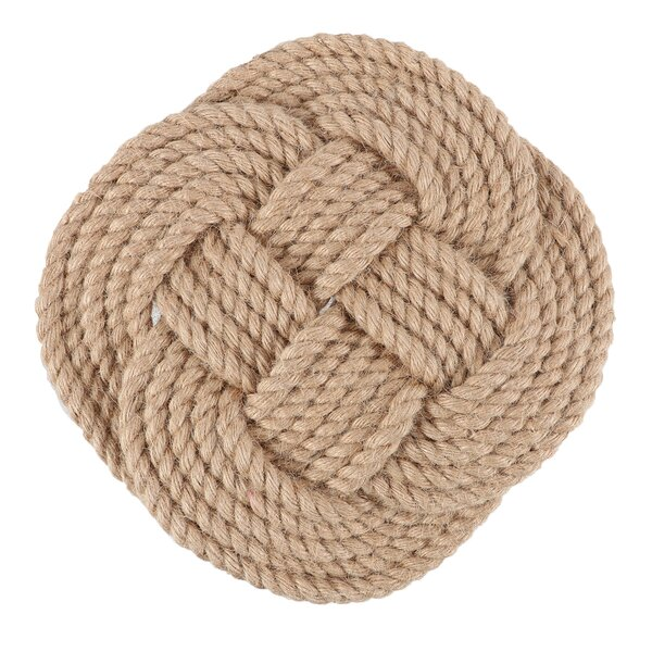 Rope Trivet by Breakwater Bay