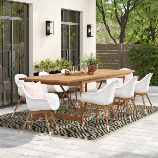 Blough 9 Piece Dining Set by Langley Street