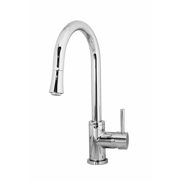 Sedna Single Handle Kitchen Faucet by Virtu USA