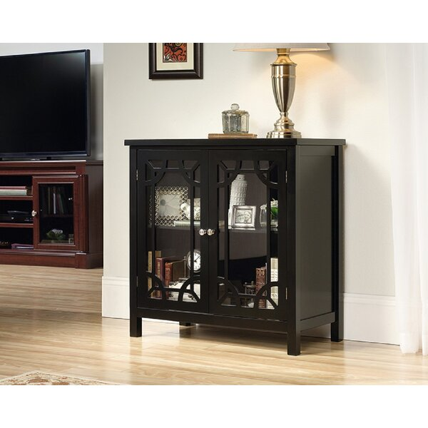 Raney 2 Door Square Accent Cabinet