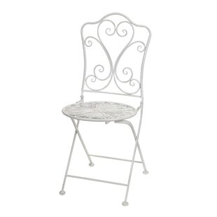Charmant Bistro Folding Patio Dining Chair