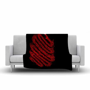 Reviews BarmalisiRTB Fire Snake Animals Fleece Blanket ByEast Urban Home