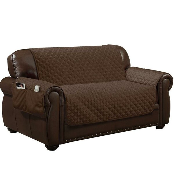 Water Resistant T-Cushion Loveseat Slipcover By Symple Stuff
