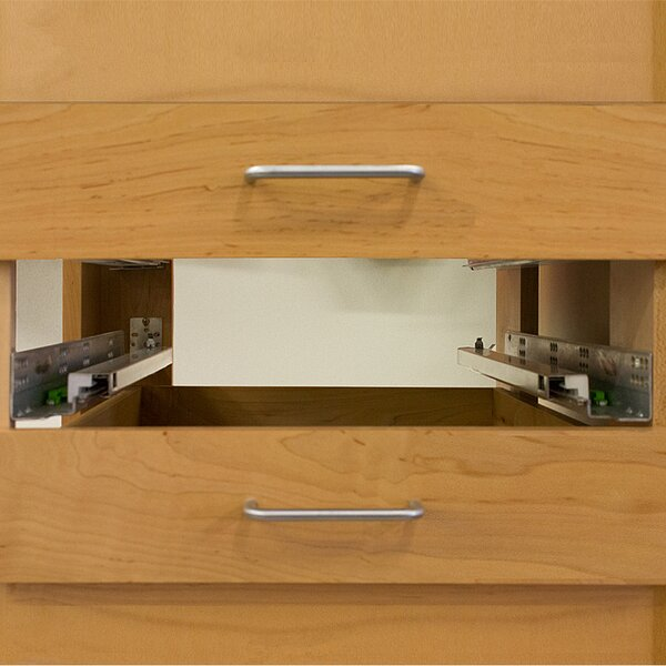 Soft-Close Full Extension Side Mount Drawer Slide (Set of 2) by Custom Service Hardware