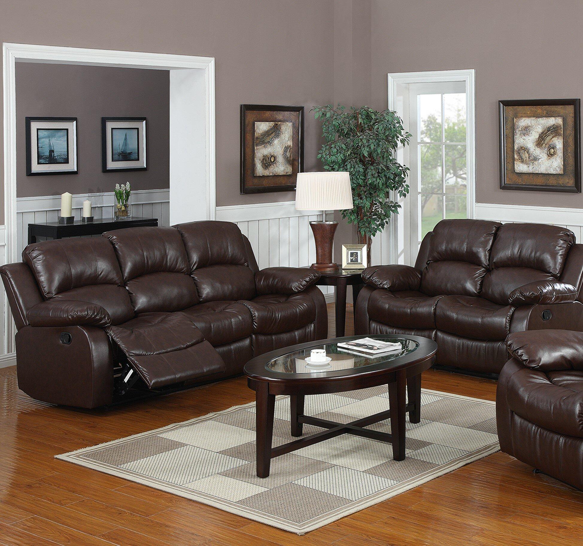 Best Reclining Living Room Sofa Set
