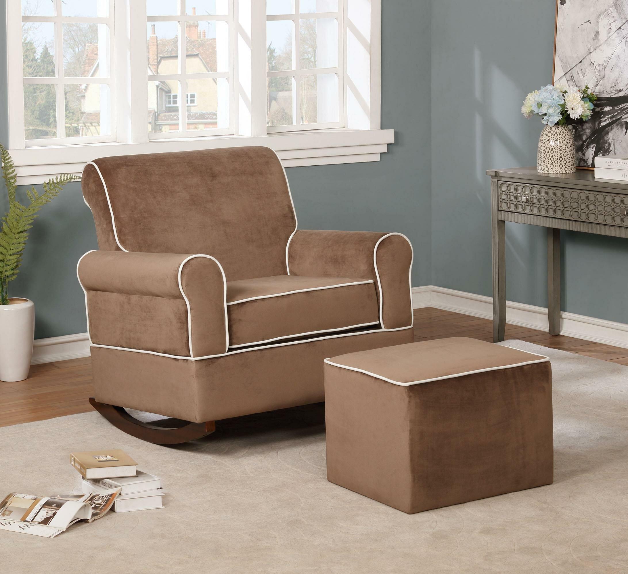 Swell Chappell Rocking Chair And Ottoman Creativecarmelina Interior Chair Design Creativecarmelinacom