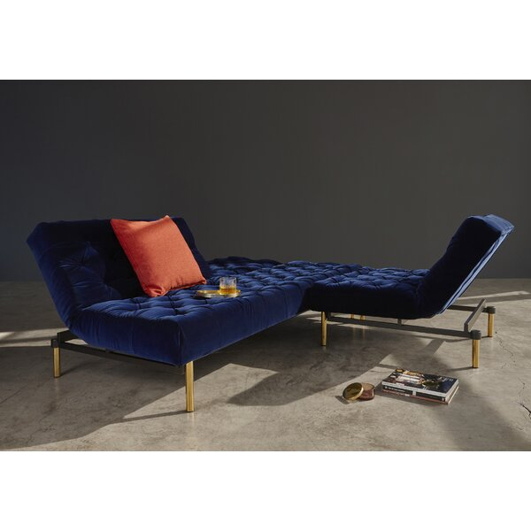 Old School Convertible Sofa by Innovation Living Inc.