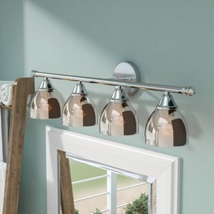 Reviews Palumbo 4-Light Vanity Light By Brayden Studio