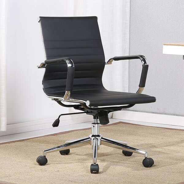 Ramona Adjustable Swivel Full-Back Desk Chair by Orren Ellis