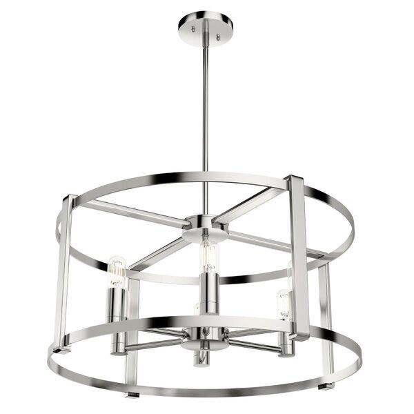 Astwood 6 - Light Candle Style Square / Rectangle Chandelier by Hunter Fan Hunter Fan