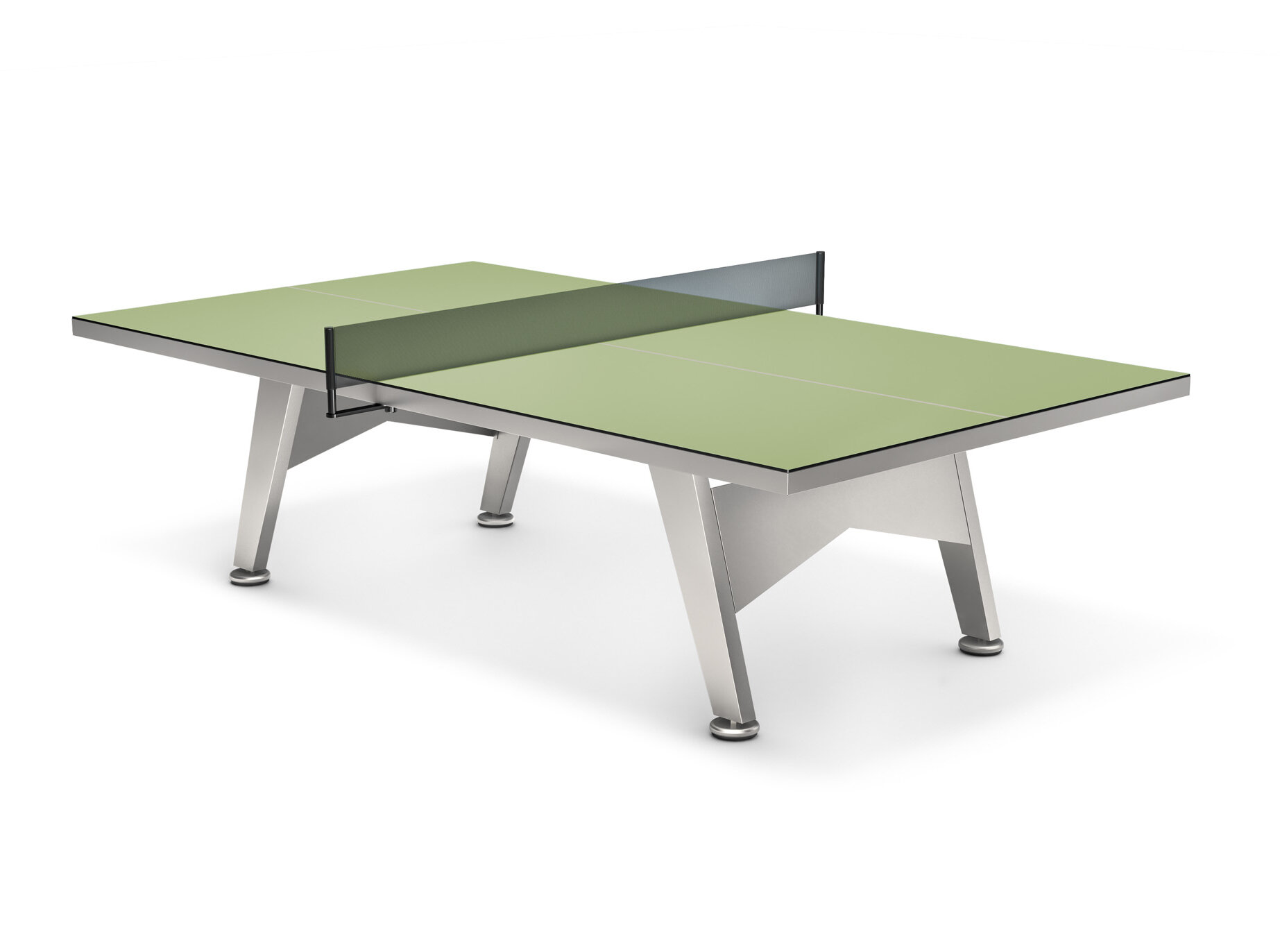 JANUS Et Cie Outdoor Table Tennis Table With Accessories | Wayfair