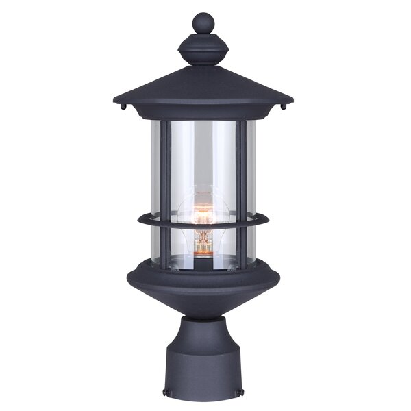 Wheaton 1-Light Lantern Head by Three Posts