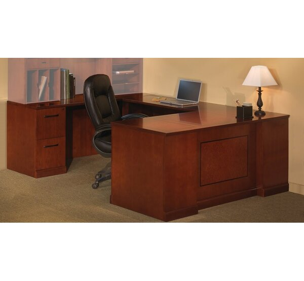 Sorrento Series 2-Piece U-Shape Desk Office Suite by Mayline Group