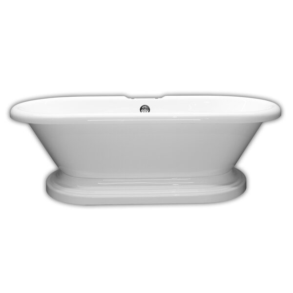 70 x 31 Freestanding Bathtub by Cambridge Plumbing