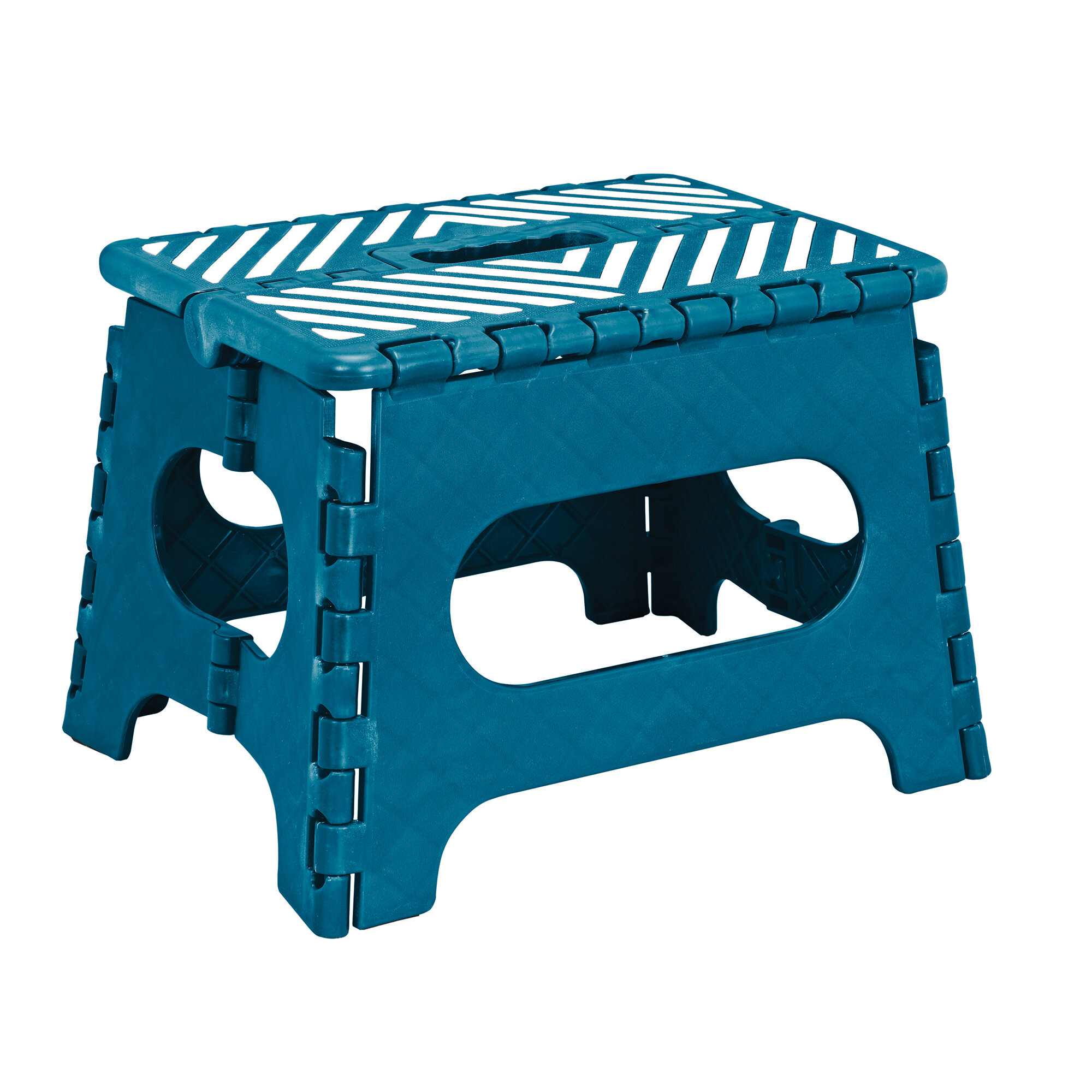 Simplify 1-Step Plastic Folding Step Stool with 200 lb. Load ...