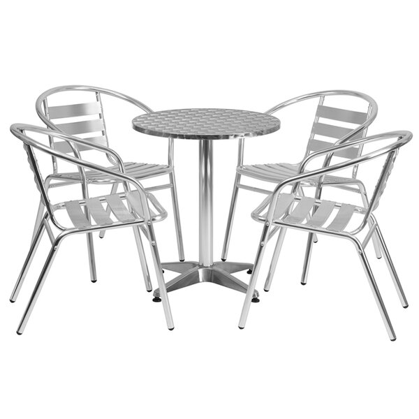 5 Piece Bistro Set by Offex