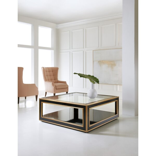 Melange Coffee Table with Tray Top by Hooker Furniture Hooker Furniture