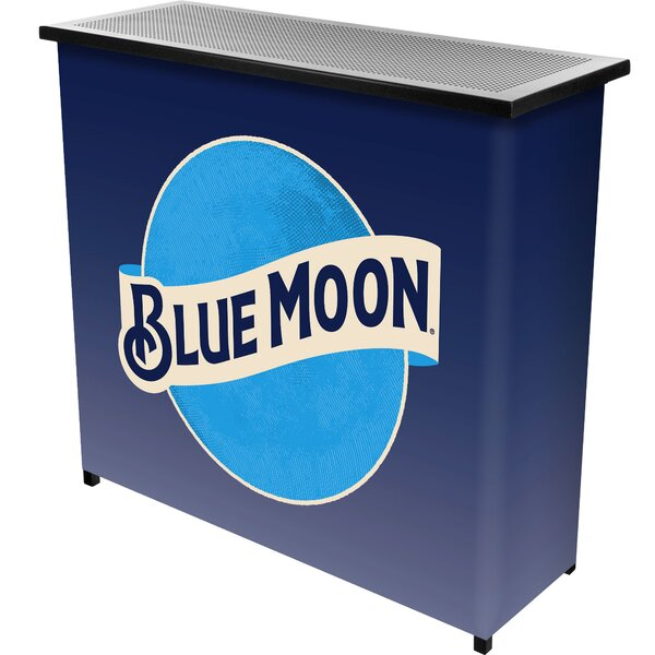 Blue Moon Portable Home Bar by Trademark Global